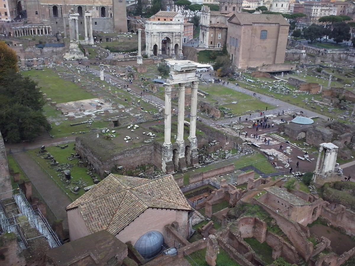 Roman-Forum-Palatine-Rome