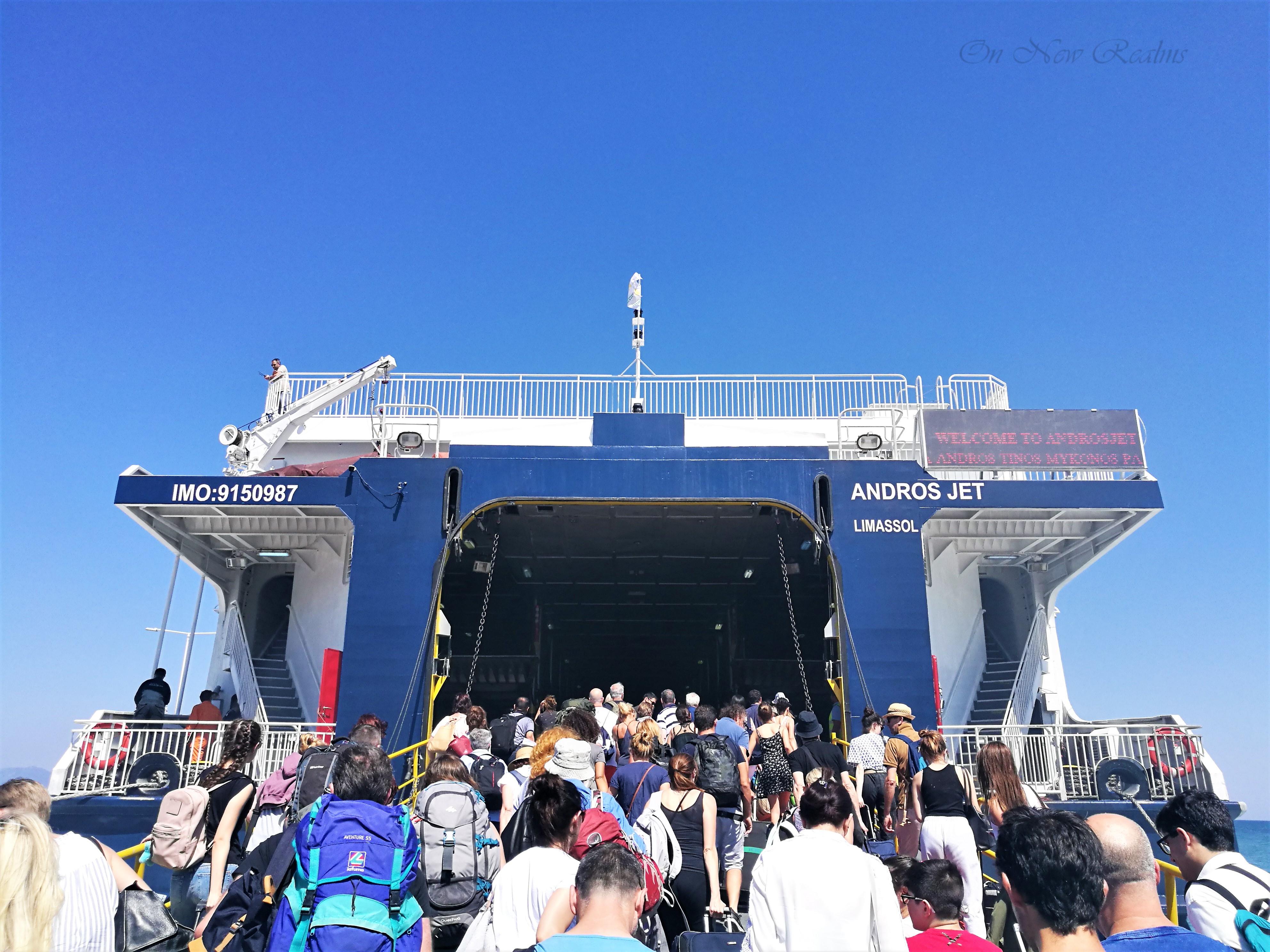 Rafina-Andros-Ferry