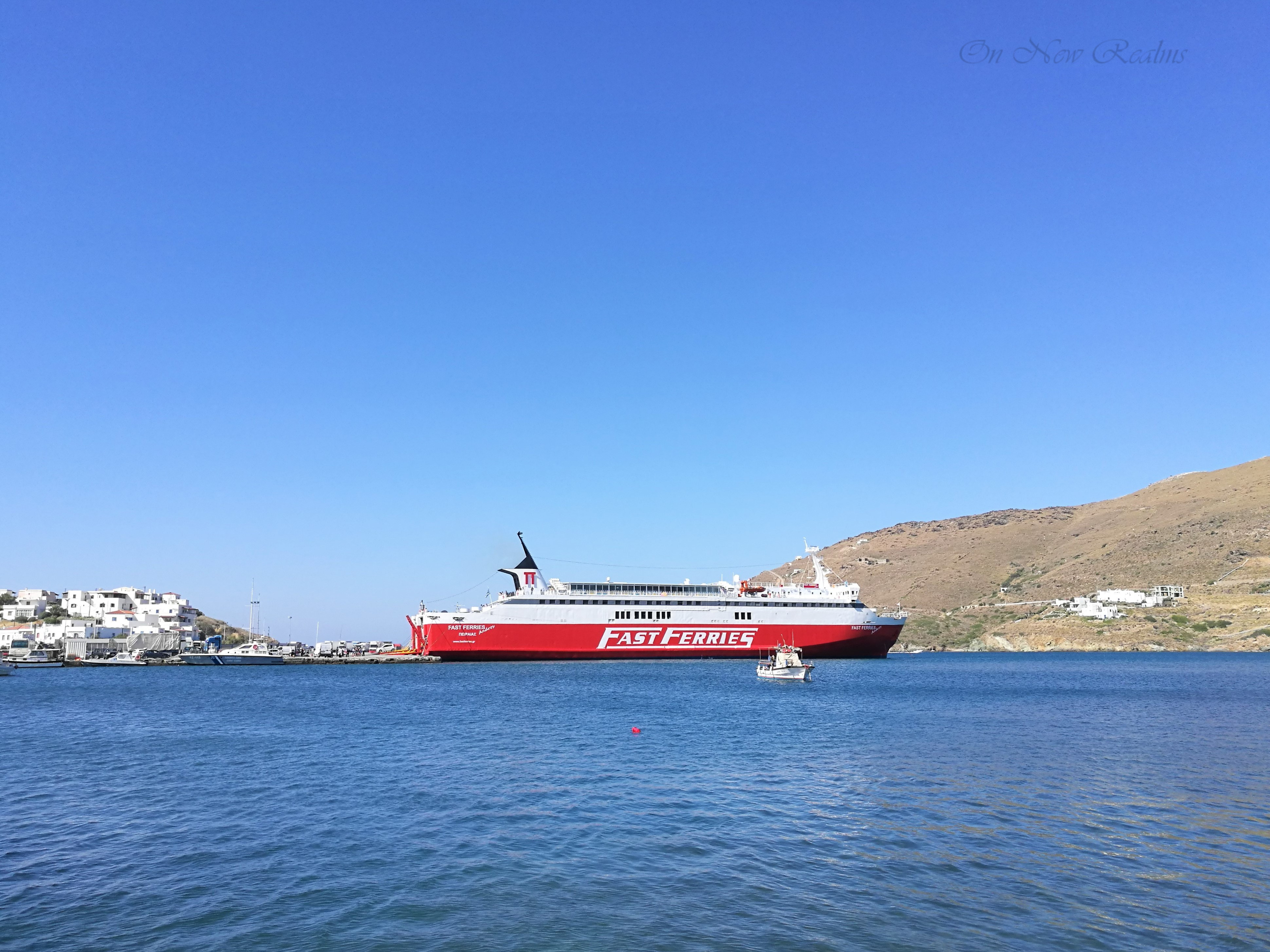 Andros-Greece-ferry